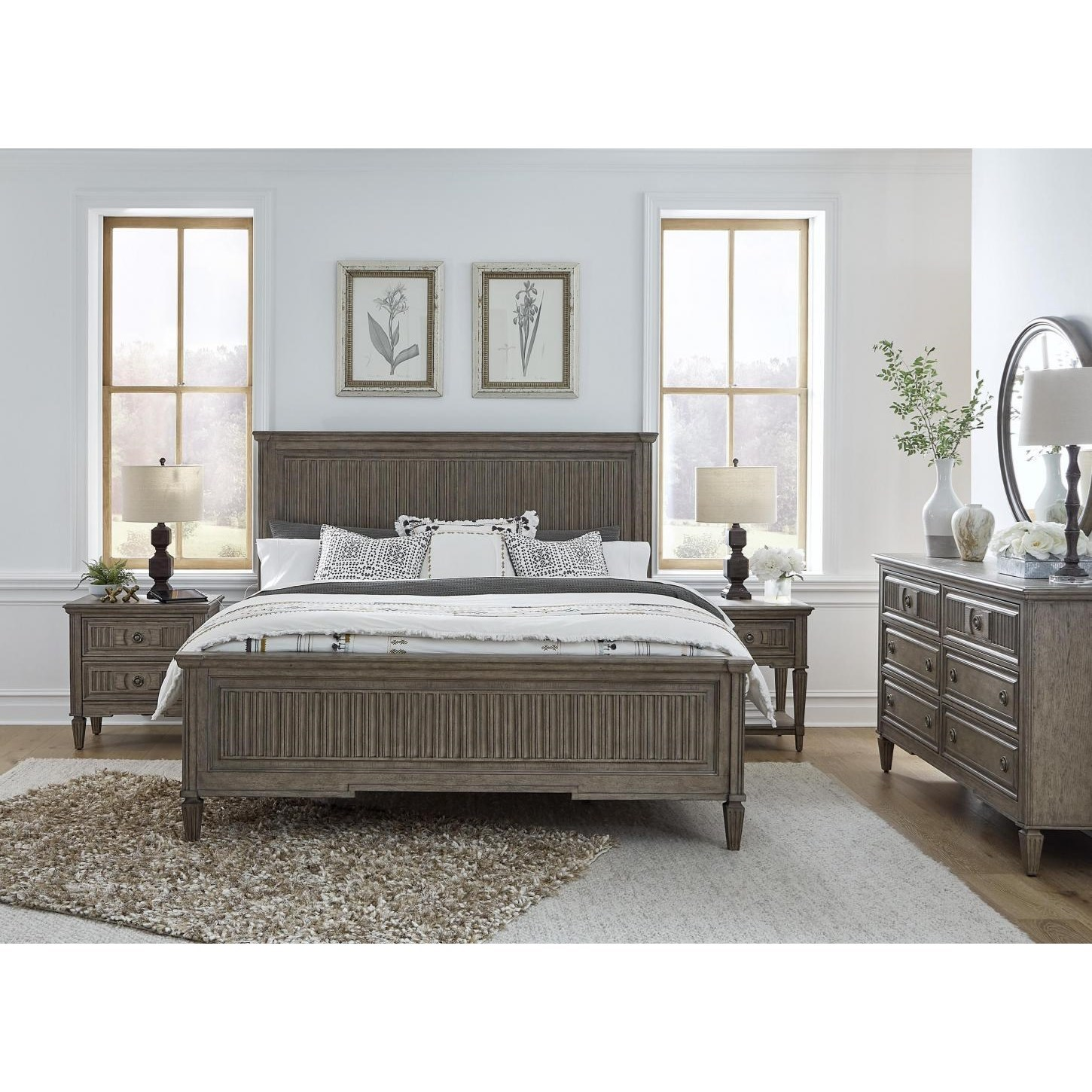 Strasbourg King Bedroom Group by Aspenhome at Stoney Creek Furniture