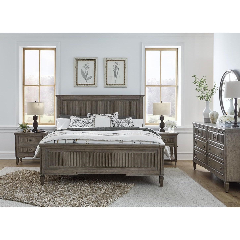 Strasbourg King Bedroom Group by Aspenhome at Baer's Furniture