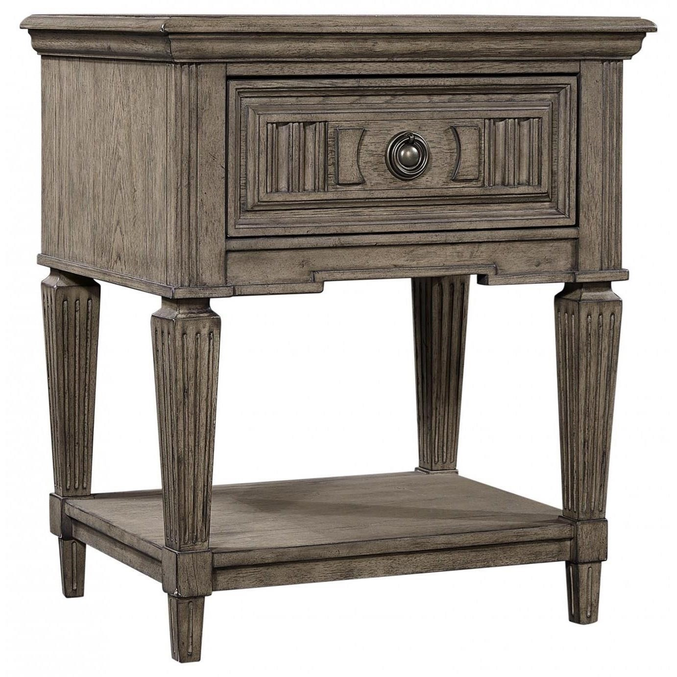 Strasbourg 1 Drawer Nightstand by Aspenhome at Walker's Furniture