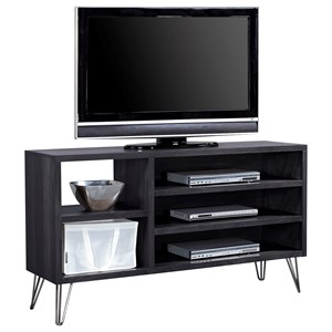 """58"""" Asymmetrical Console with 3 Shelves"""