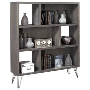 Display Case with Open Shelving