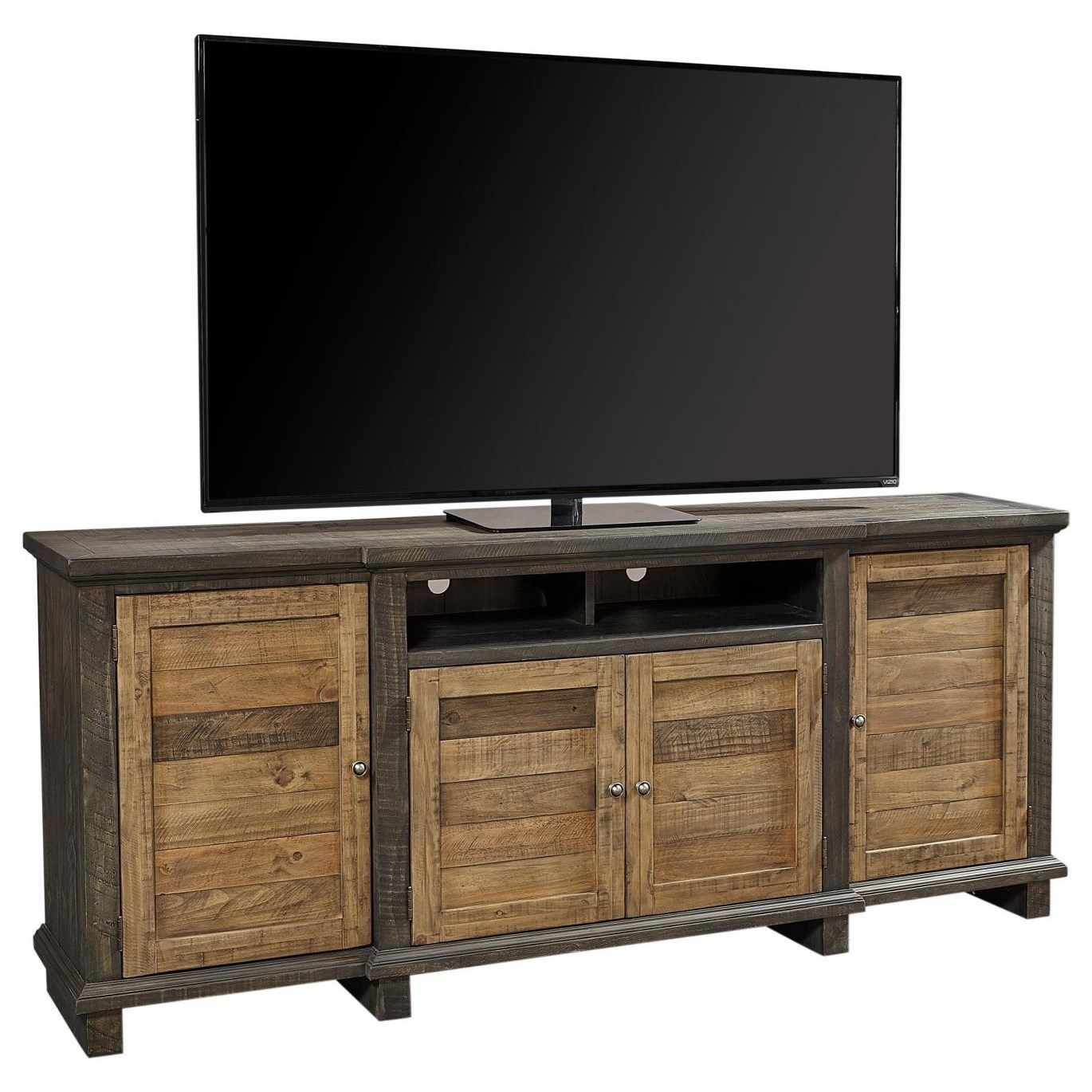 """Stoneham Stoneham 86"""" Console by Aspenhome at Morris Home"""
