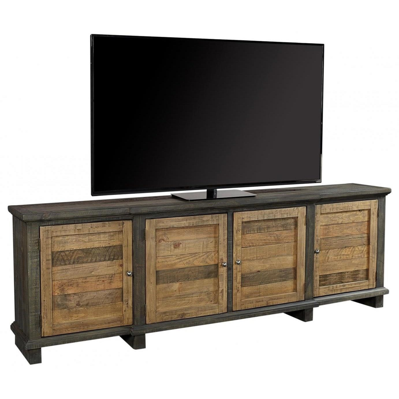 """Suffolk 96"""" Console  by Aspenhome at Walker's Furniture"""