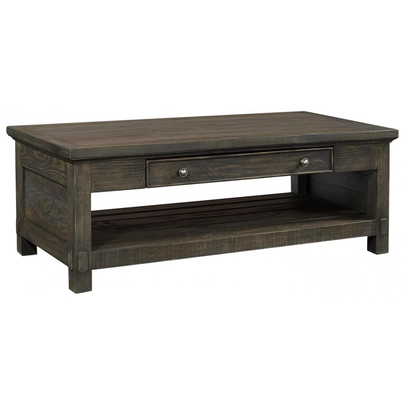 Suffolk Cocktail Table by Aspenhome at Walker's Furniture