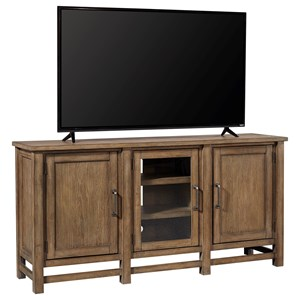 "Casual 65"" Console with Adjustable Shelves"