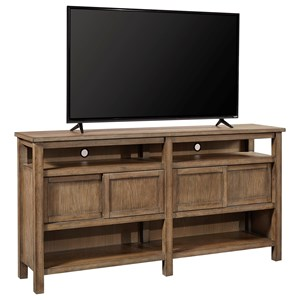 "Casual 70"" Console with Sliding Doors"