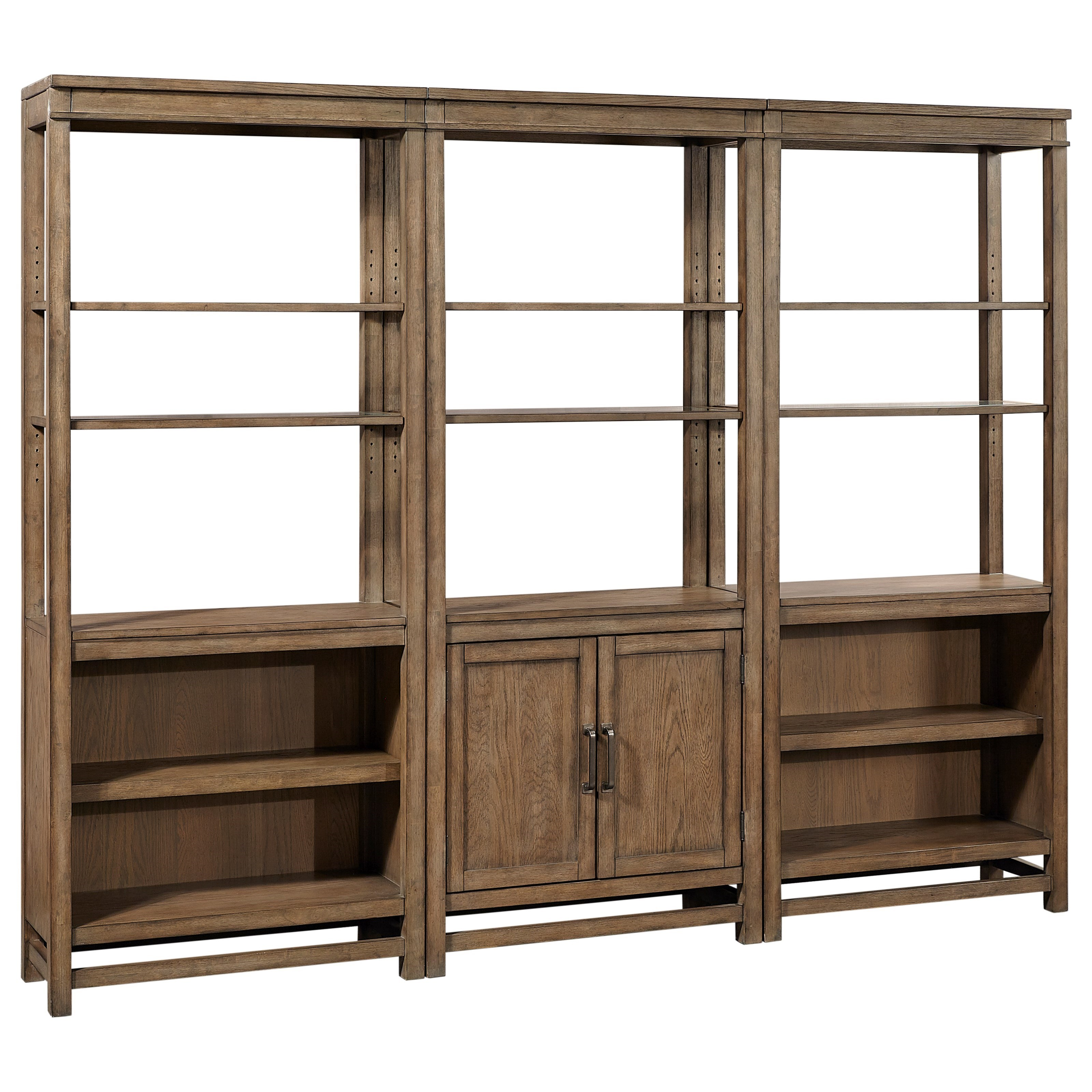 Terrace Point Bookcase Wall by Aspenhome at Wilson's Furniture