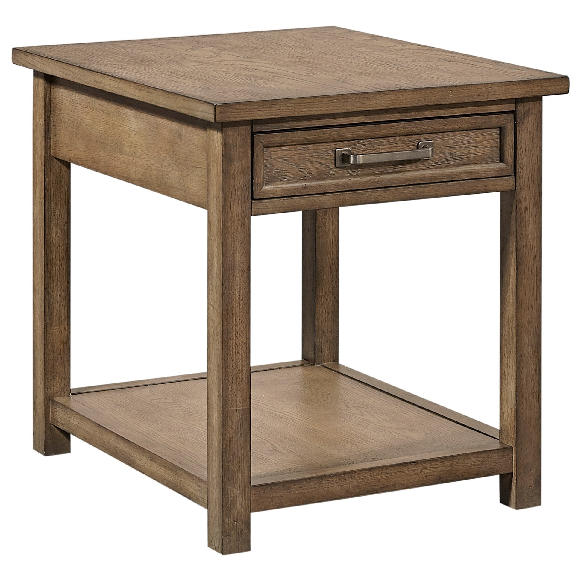 Terrace Point End Table by Aspenhome at Baer's Furniture