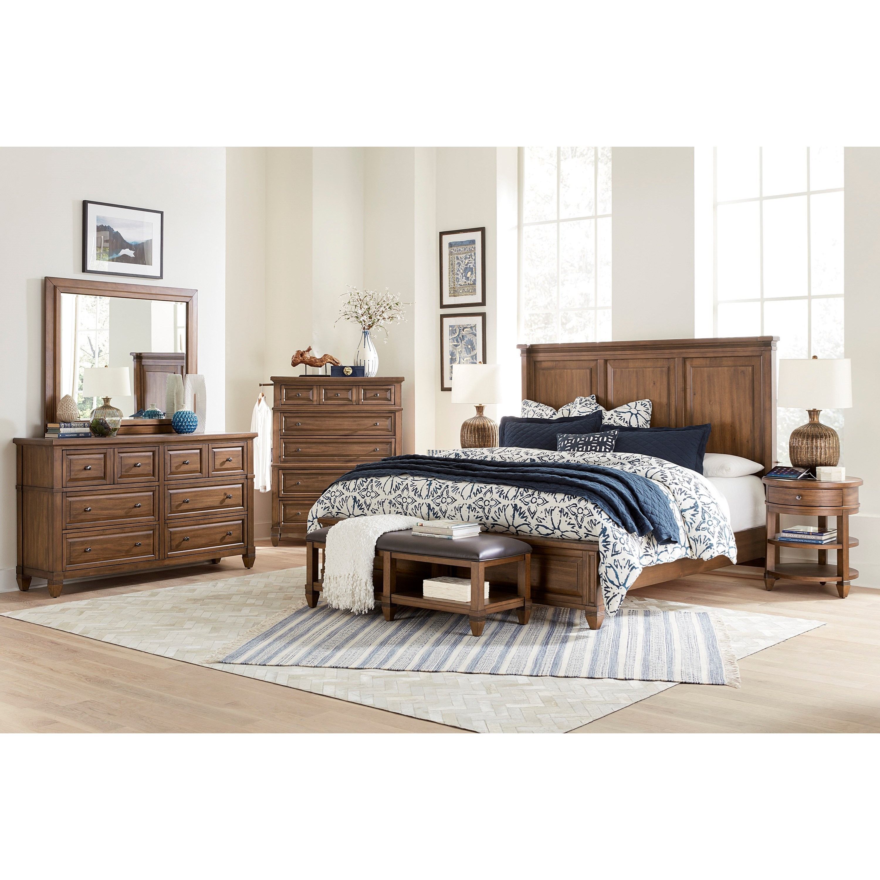 Thornton Queen Bedroom Group by Aspenhome at Stoney Creek Furniture