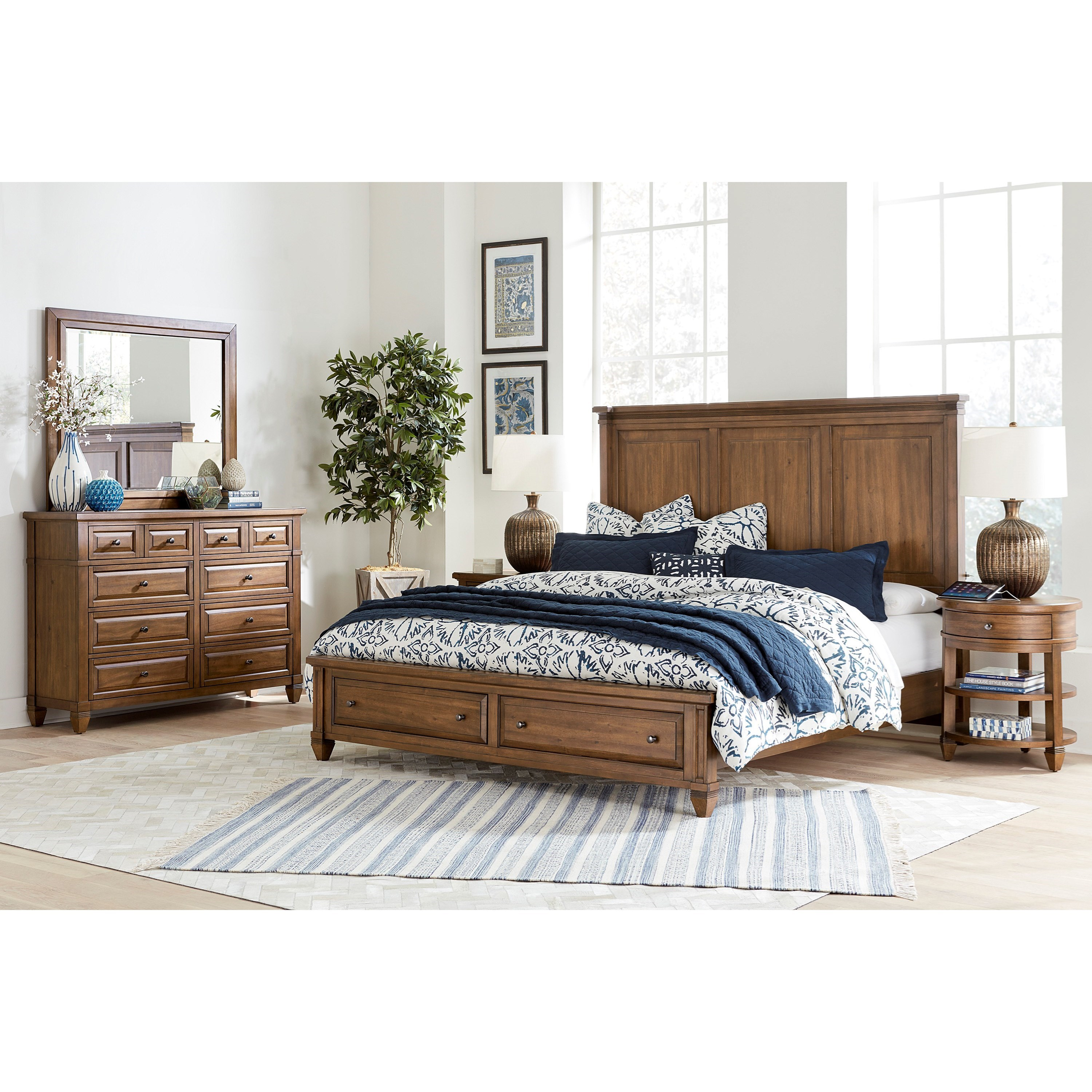 Thornton Queen Bedroom Group by Aspenhome at Baer's Furniture