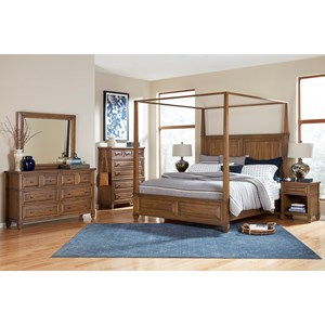 Queen Canopy Bedroom Group