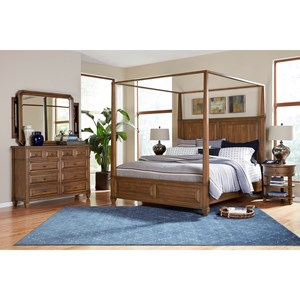 California King Canopy Bedroom Group