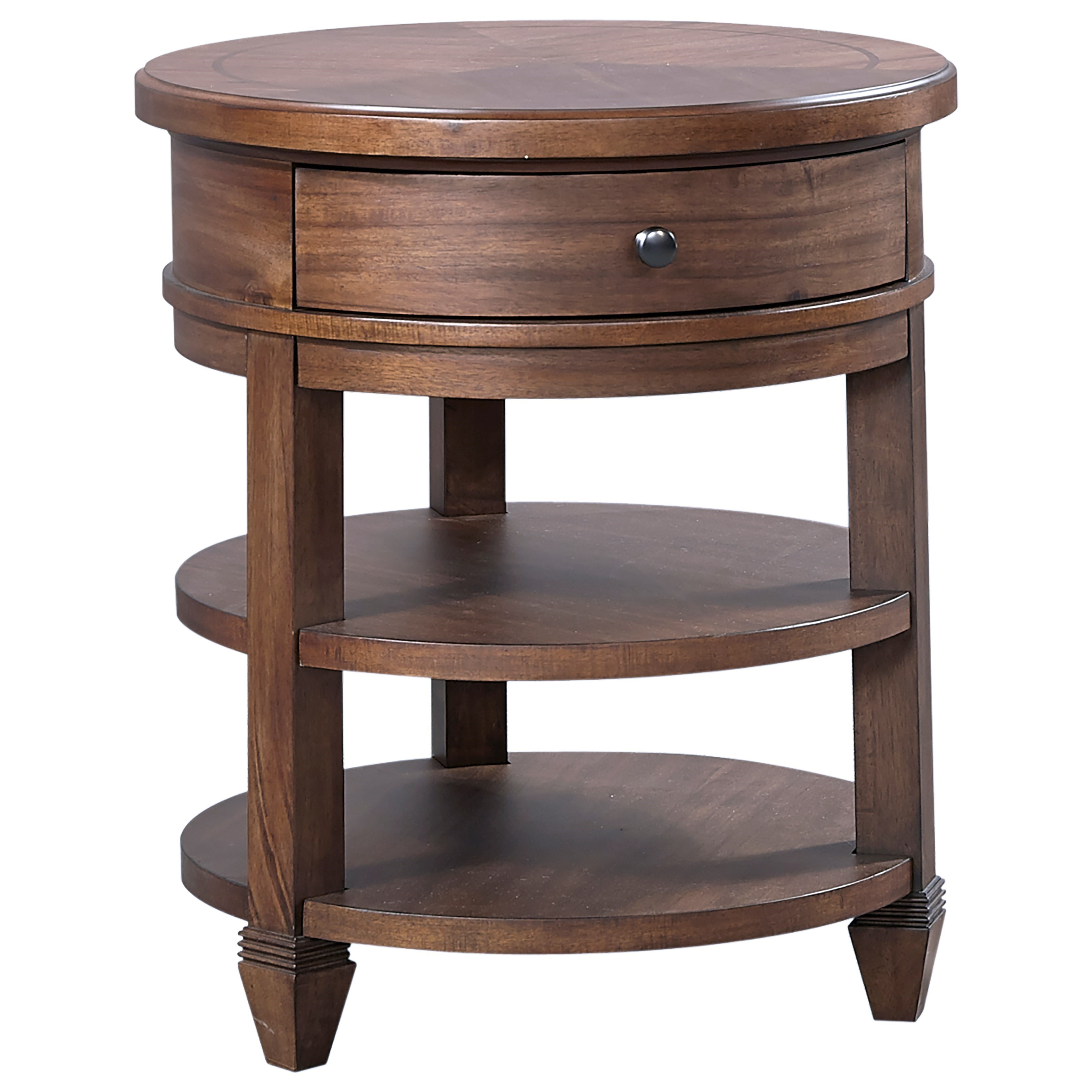 Thornton Round Nightstand by Aspenhome at Baer's Furniture