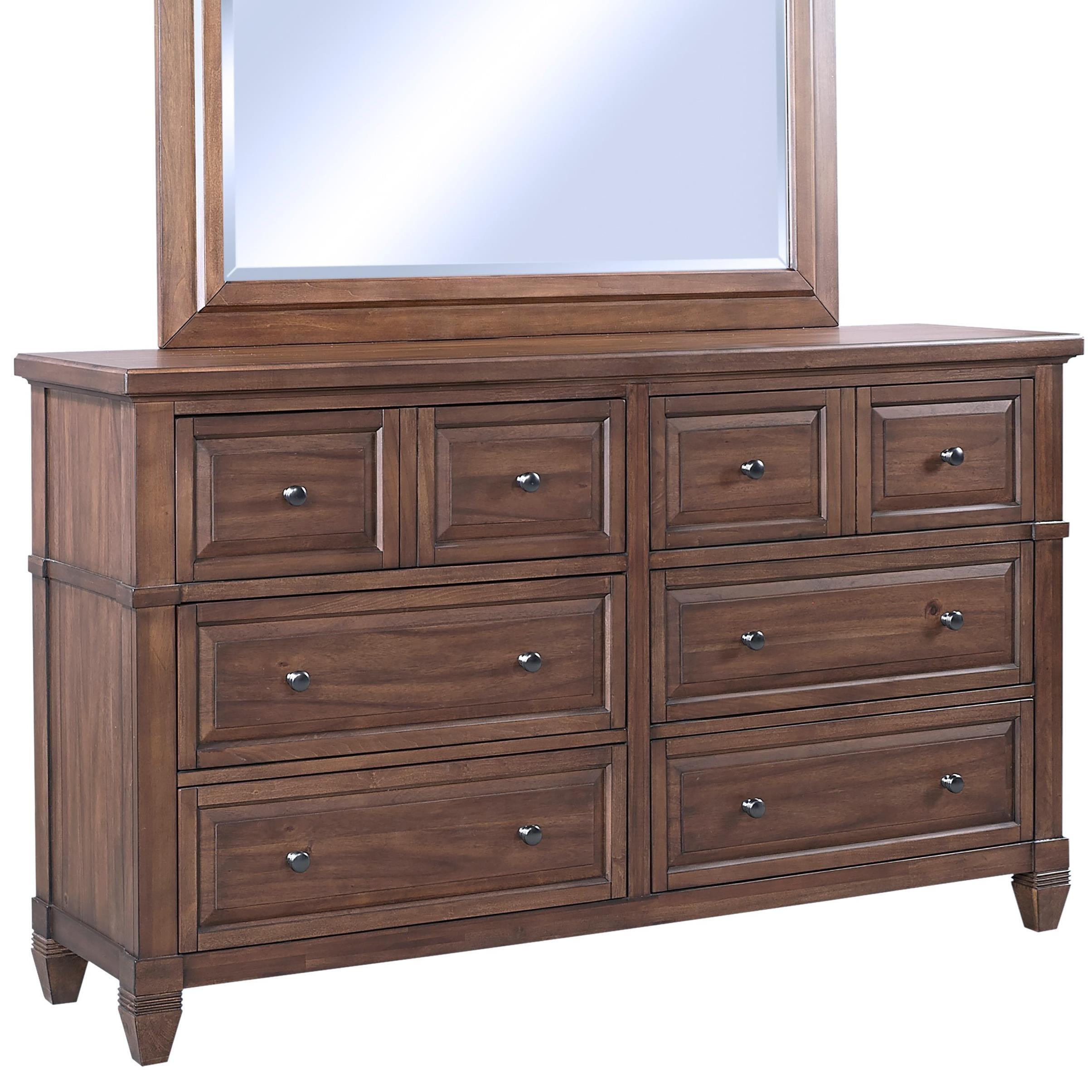 Thornton Dresser by Aspenhome at Darvin Furniture