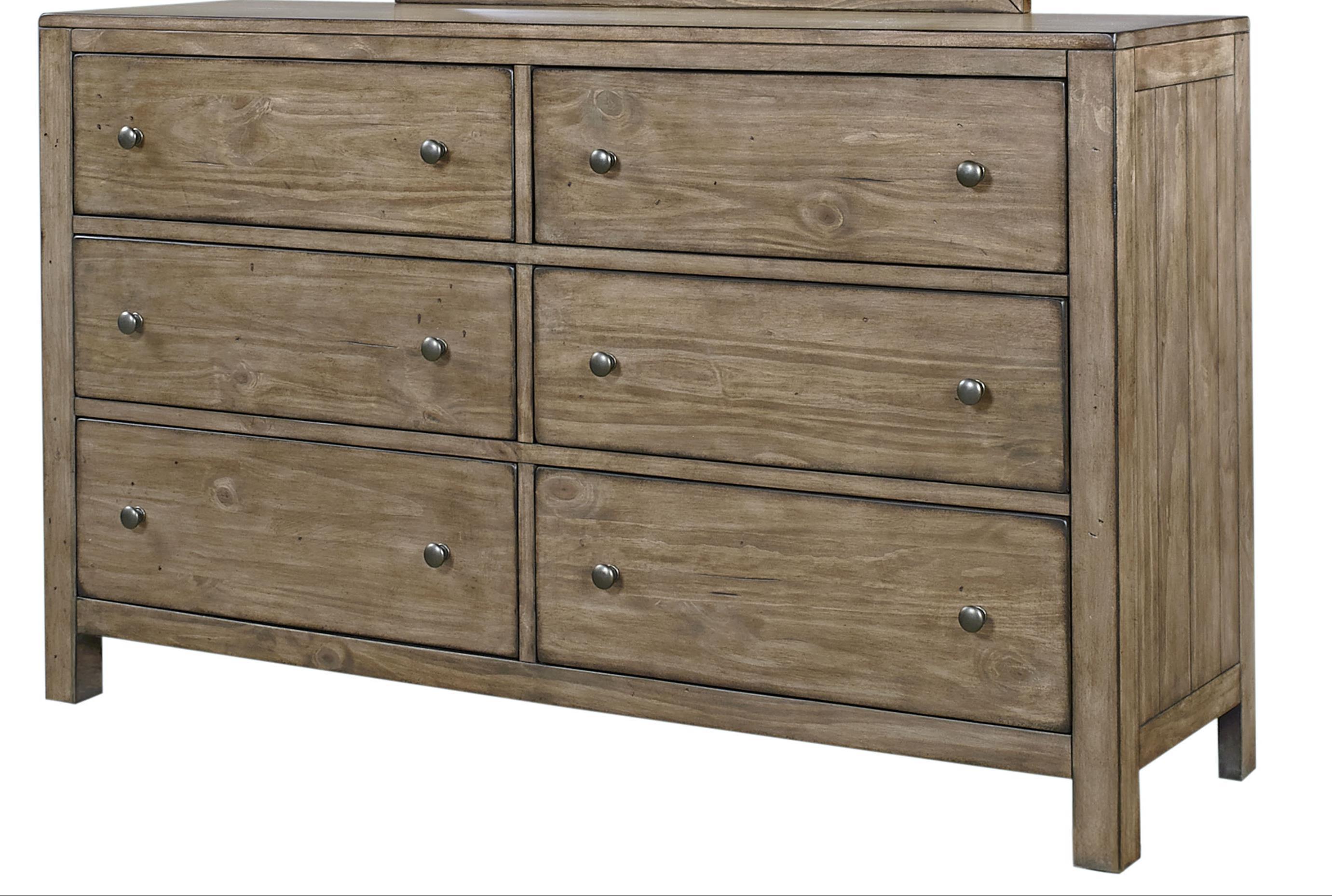 Tildon Six Drawer Dresser by Aspenhome at Walker's Furniture