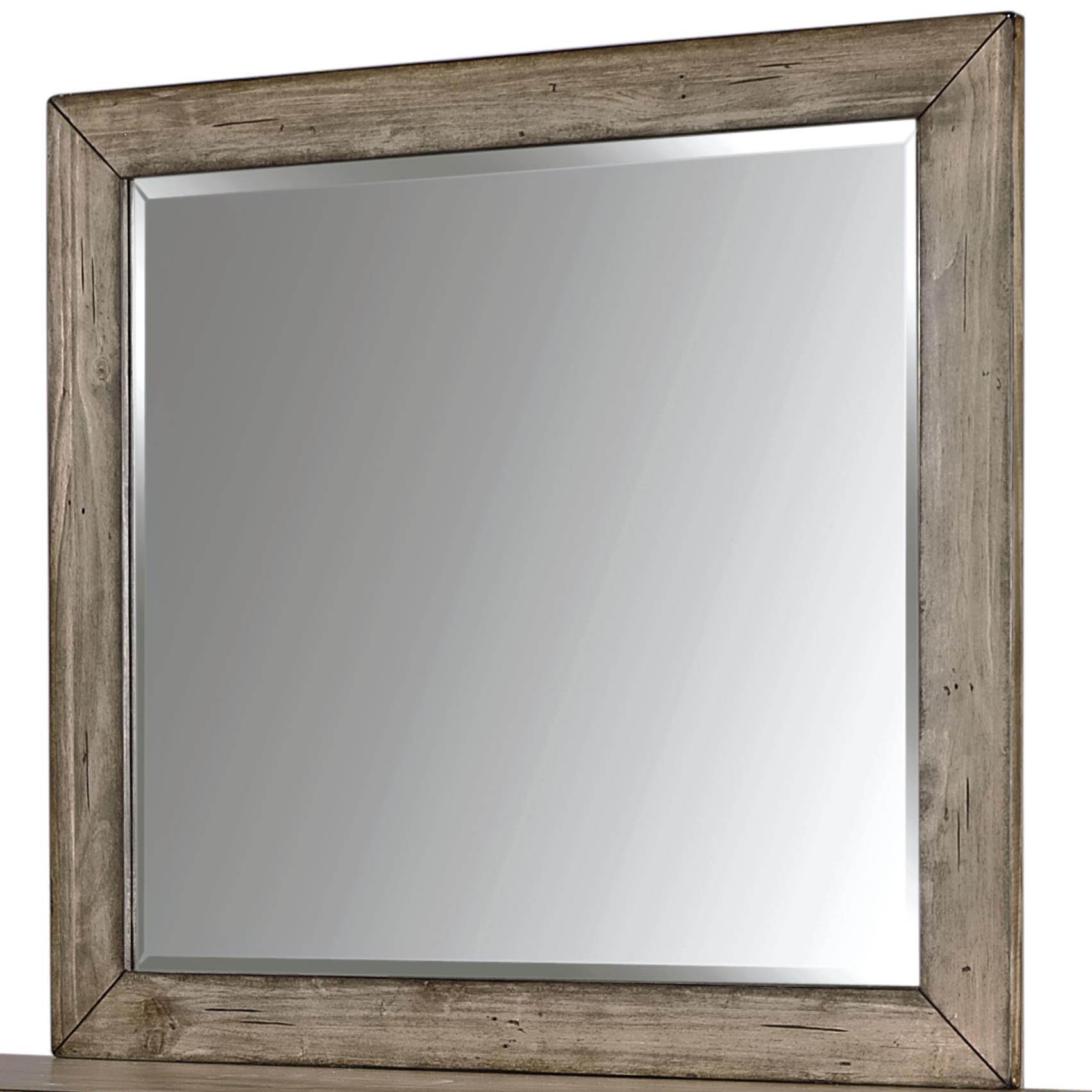 Tildon Landscape Mirror by Aspenhome at Walker's Furniture