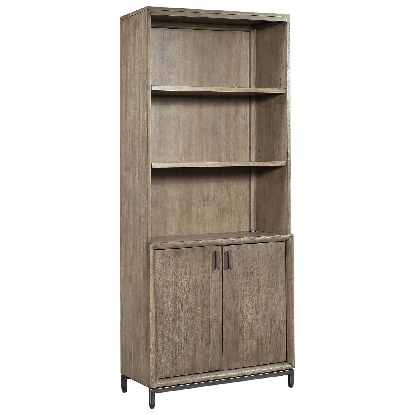 Trellis Door Bookcase by Aspenhome at Baer's Furniture