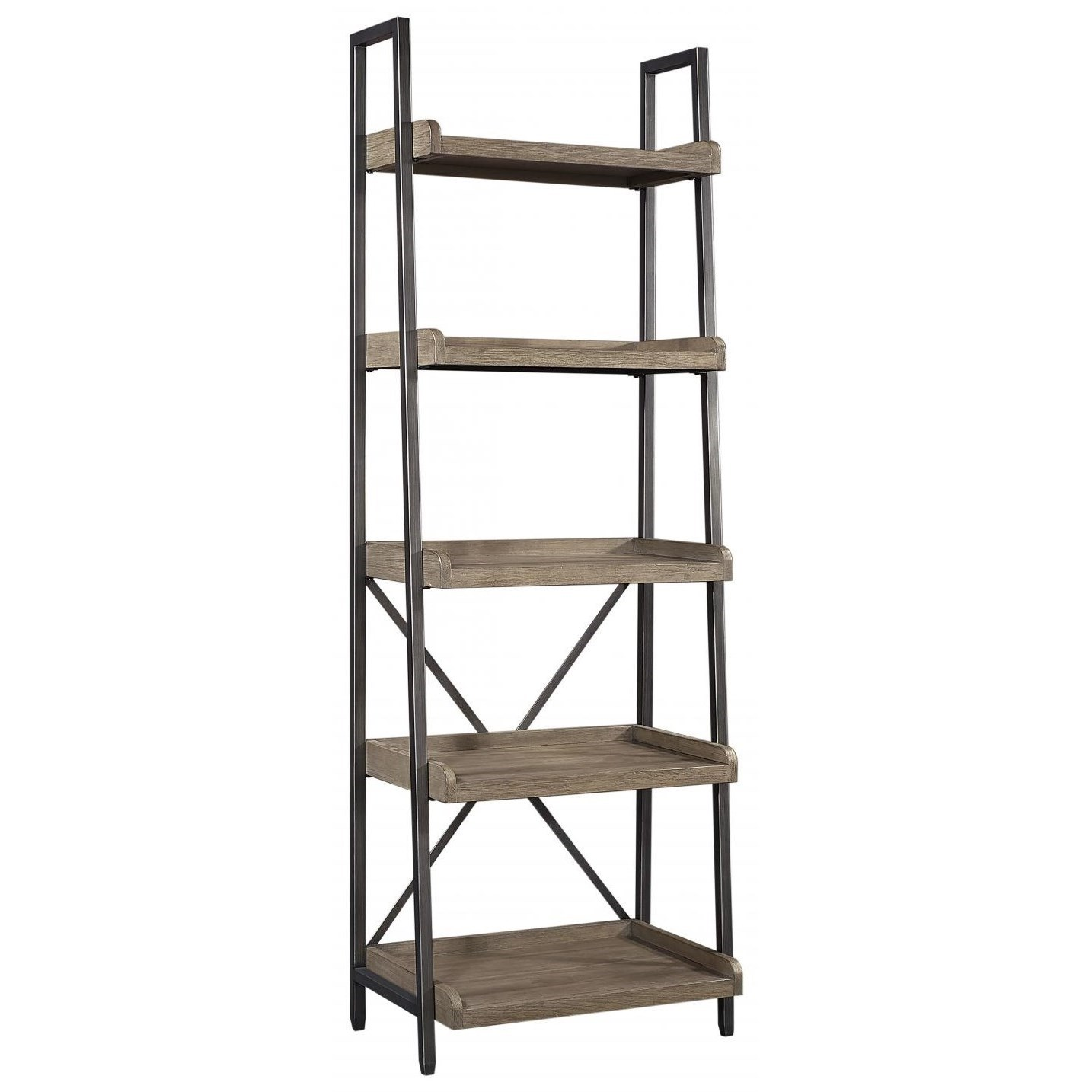 Trellis Bookcase by Aspenhome at Walker's Furniture