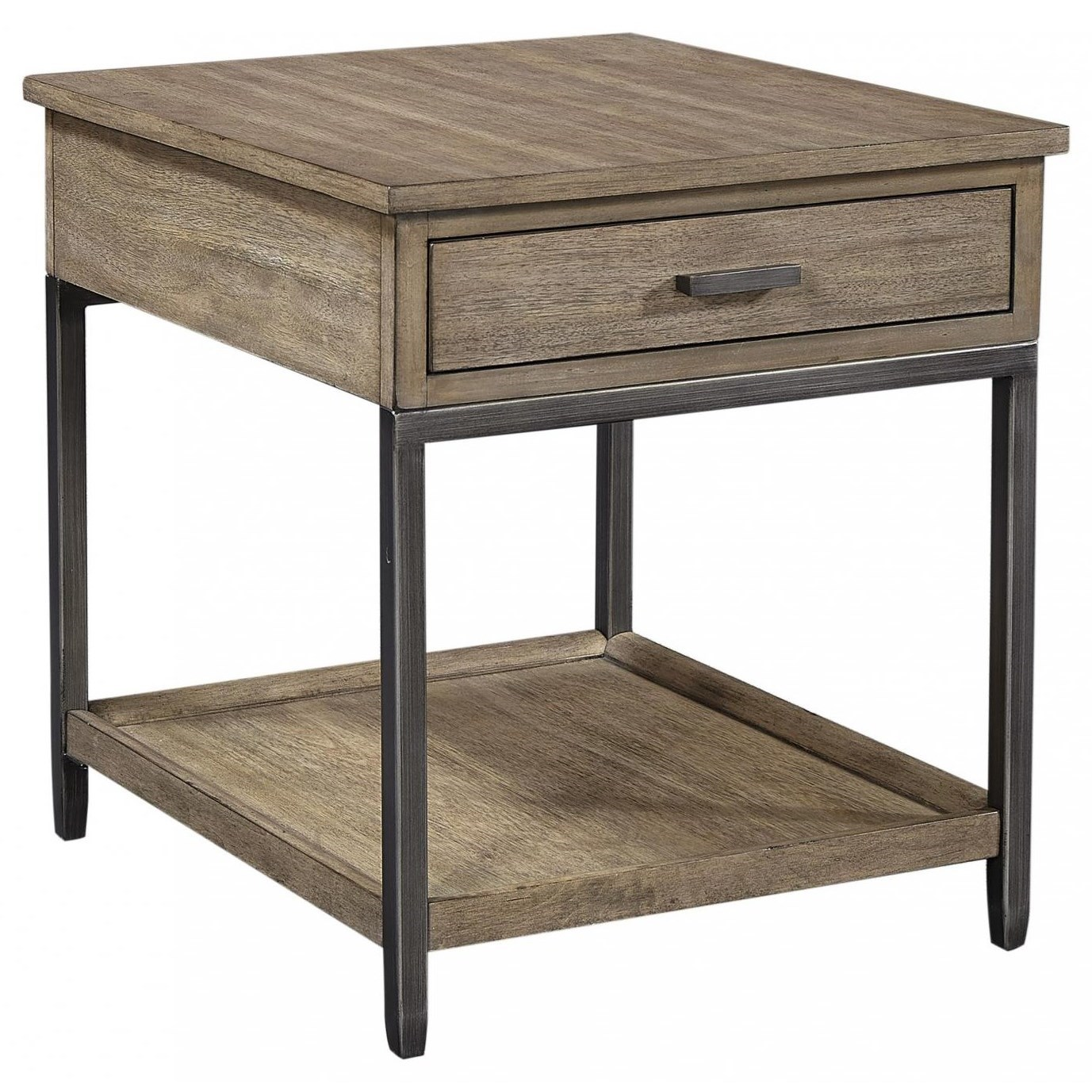 Trellis End Table by Aspenhome at Walker's Furniture