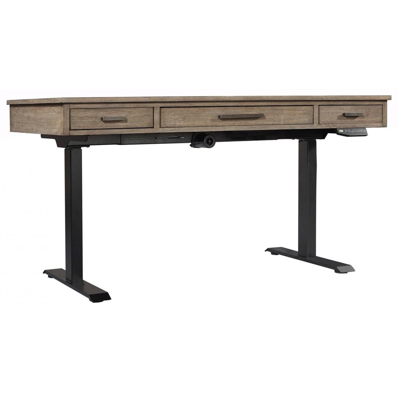 Trellis Lift-Top Desk by Aspenhome at Walker's Furniture