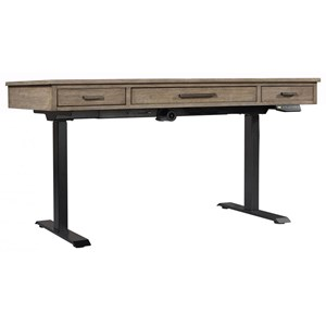 Transitional Desk with Lift-Top