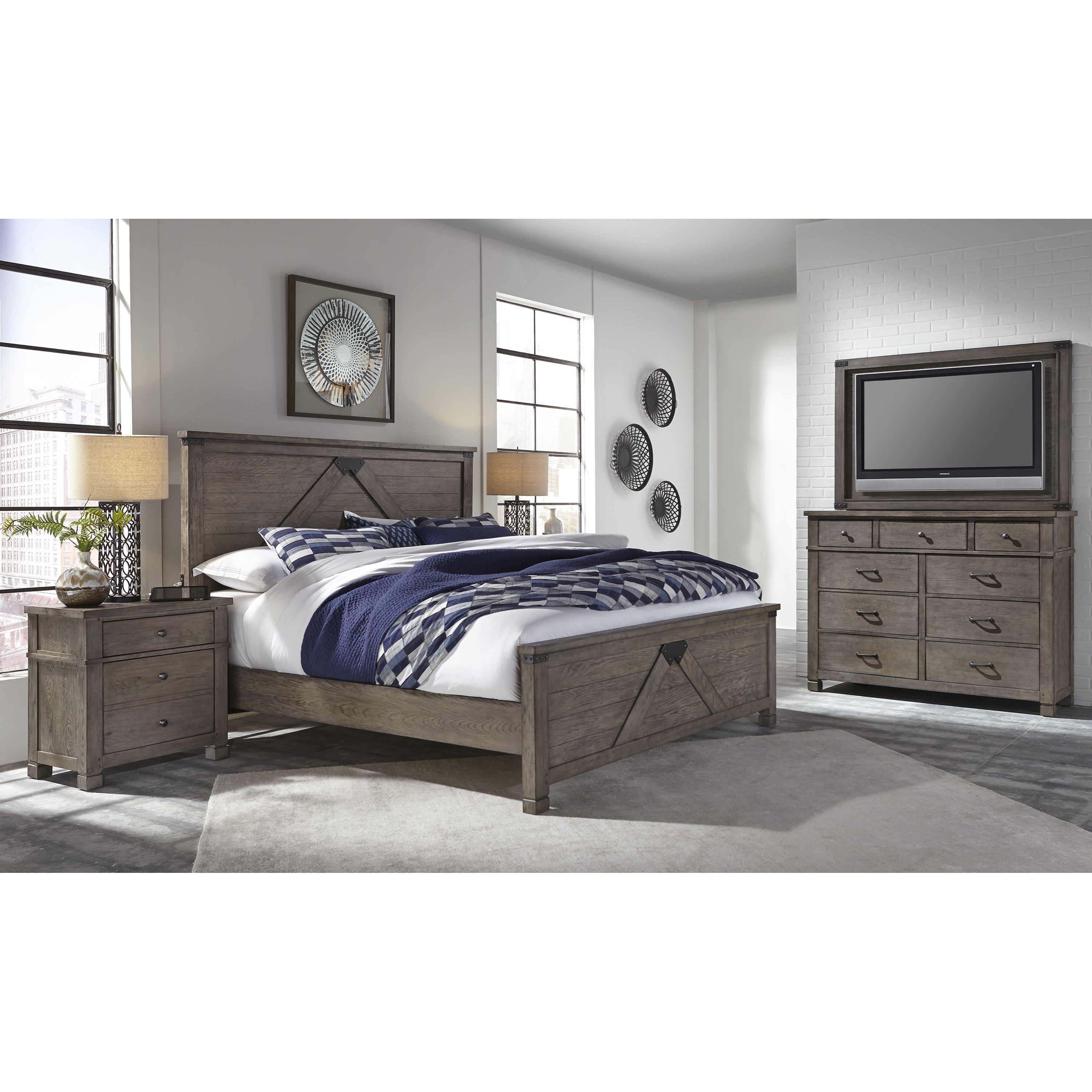 Tucker Queen Bedroom Group by Aspenhome at Baer's Furniture