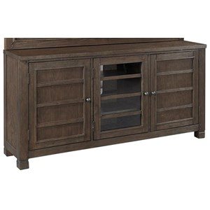 """65"""" Console with Adjustable Shelving"""
