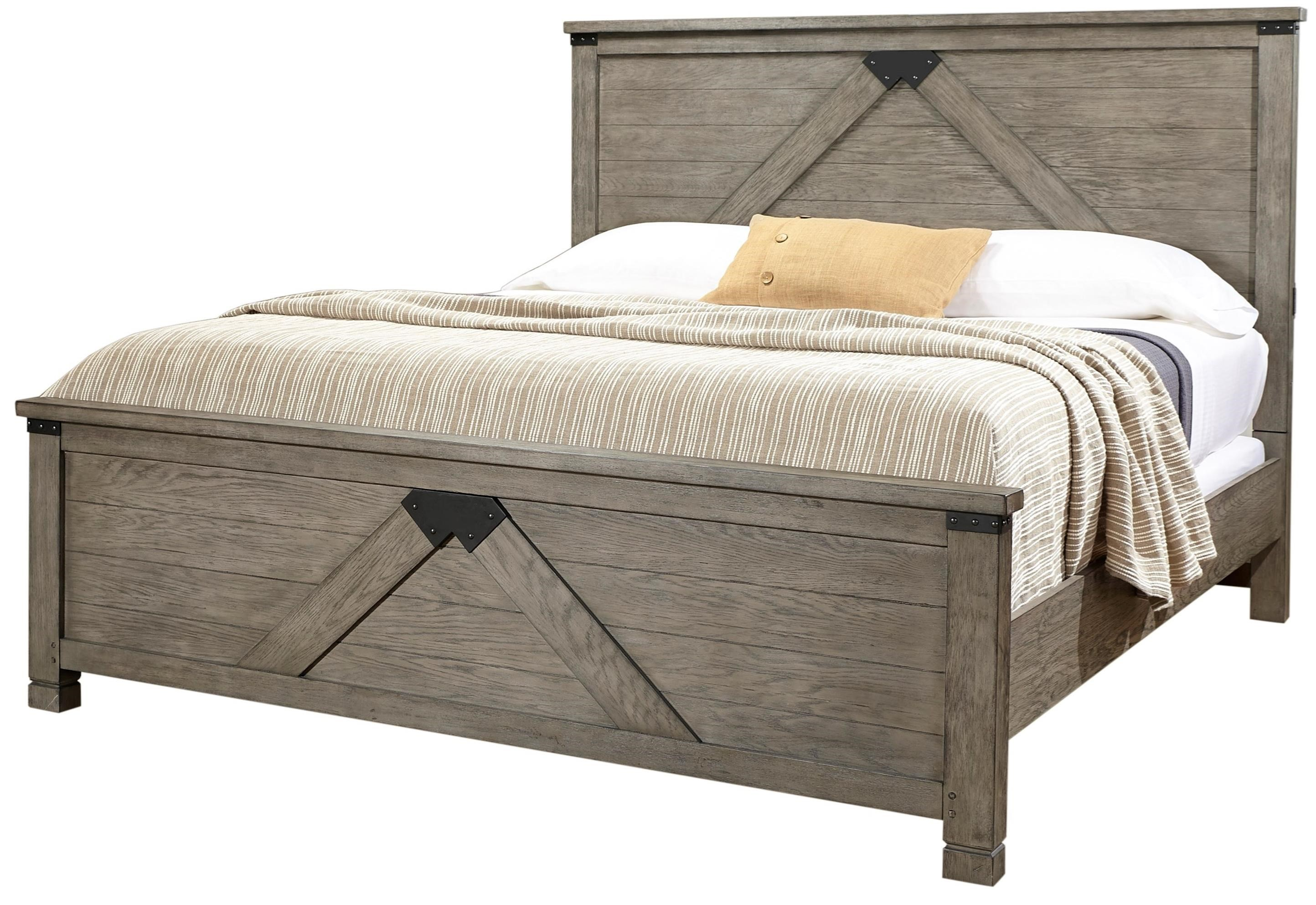 Tucker Queen Panel Bed by Aspenhome at Baer's Furniture