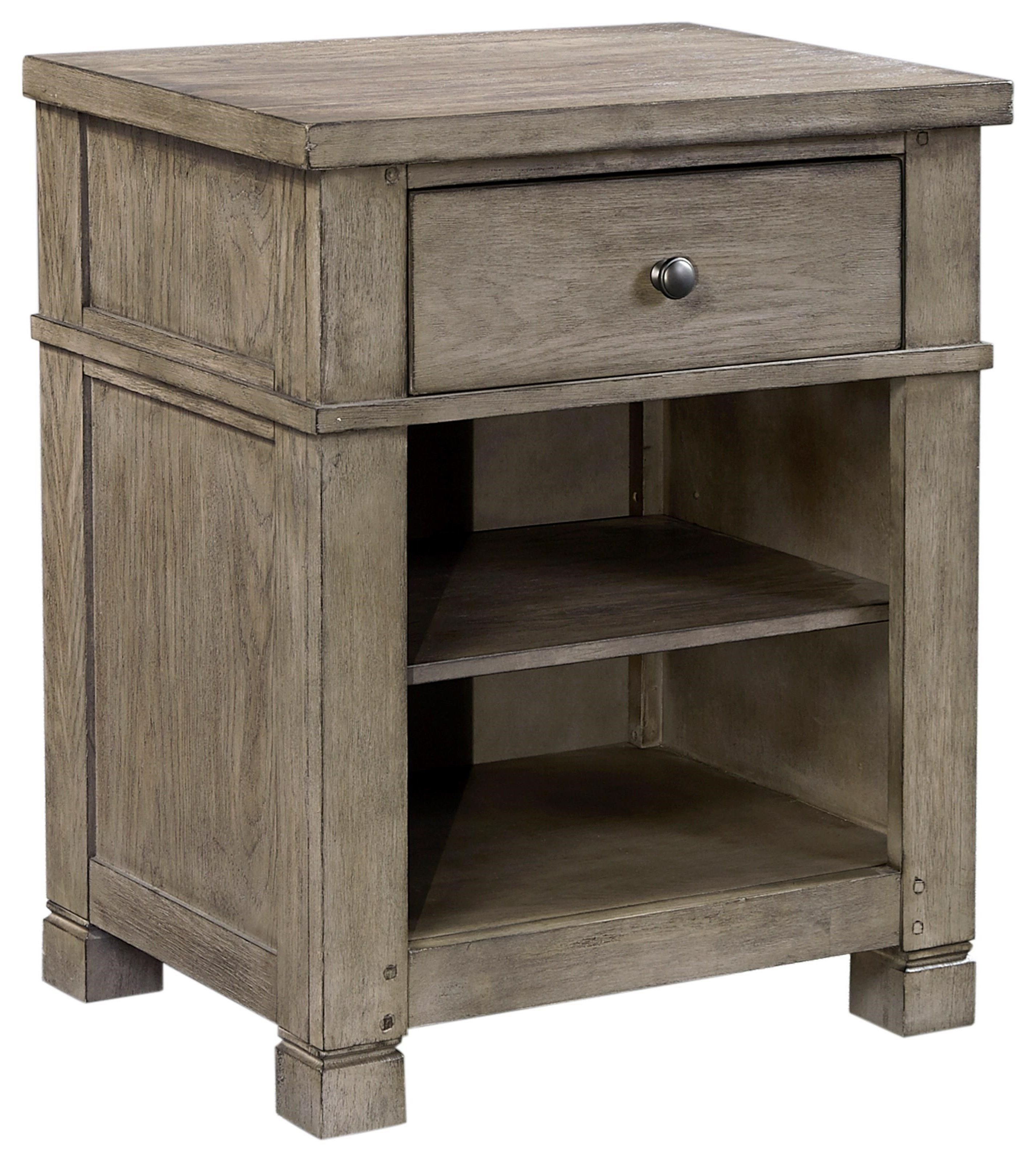 Tucker 1 Drawer Nightstand by Aspenhome at Darvin Furniture