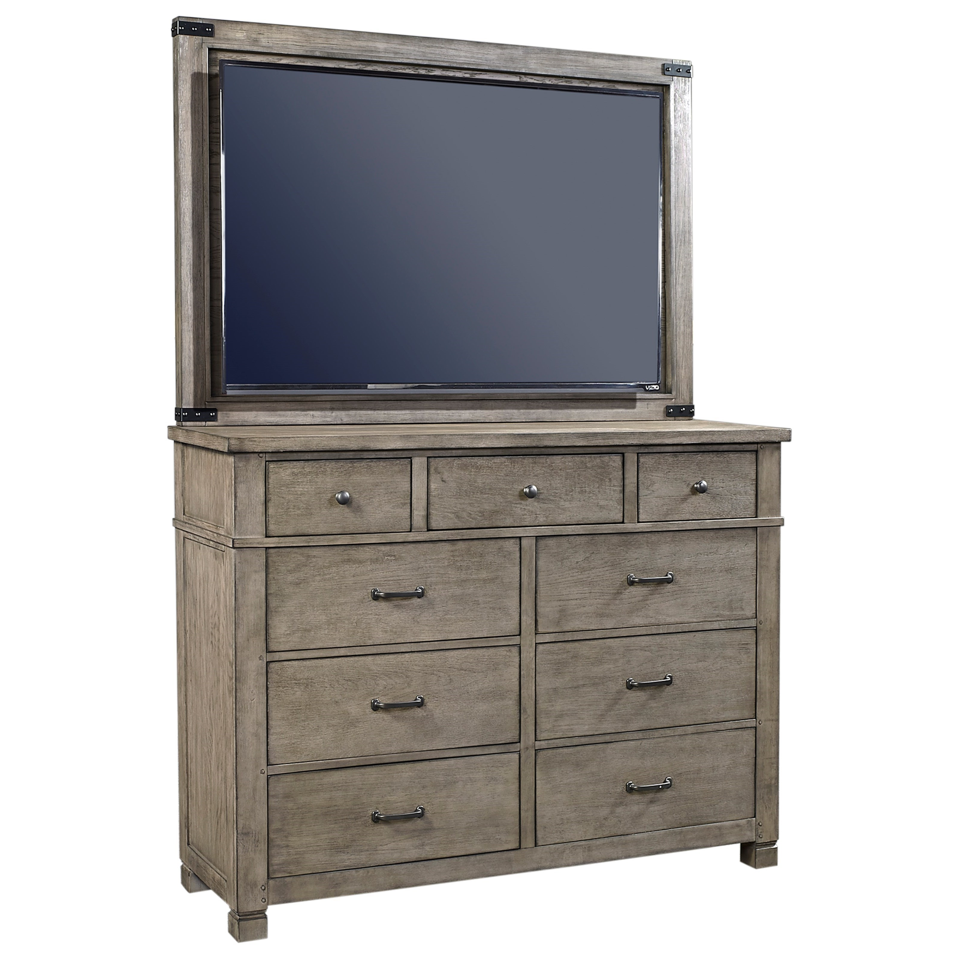 Tucker Chesser with TV Stand by Aspenhome at Walker's Furniture