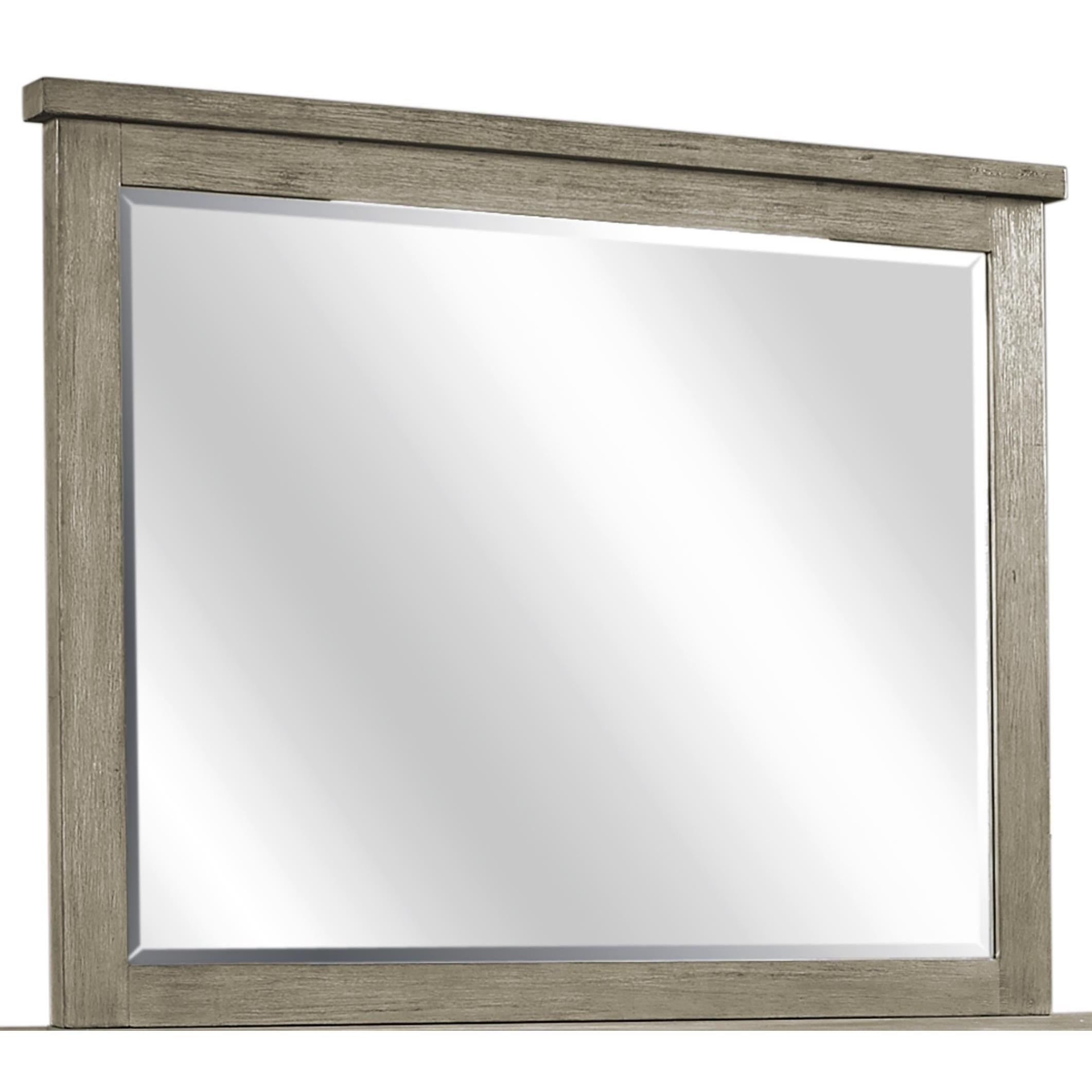 Tucker Landscape Mirror by Aspenhome at Walker's Furniture