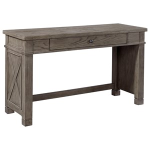 Sofa Writing Table with Drop Front Drawer