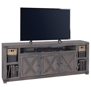 "84"" Entertainment Console with 3 Doors"