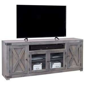 "72"" Entertainment Console with Soundbar Area"