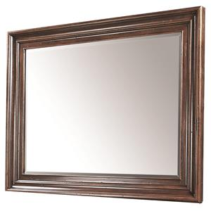 Square Mirror with Beveled Glass
