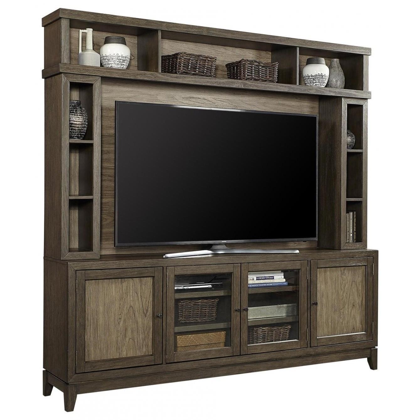 Westlake TV Stand and Hutch by Aspenhome at Walker's Furniture