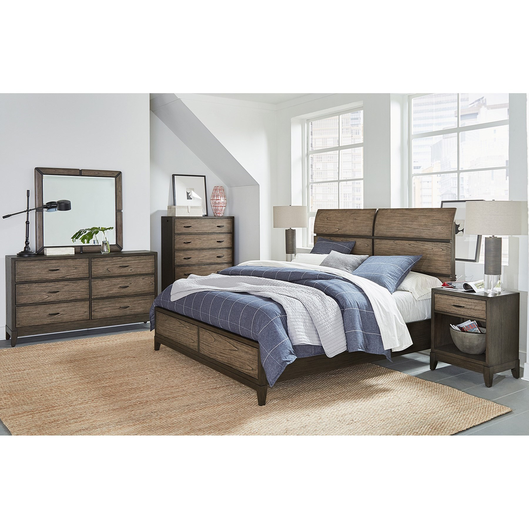 Westlake King Bedroom Group by Aspenhome at Prime Brothers Furniture