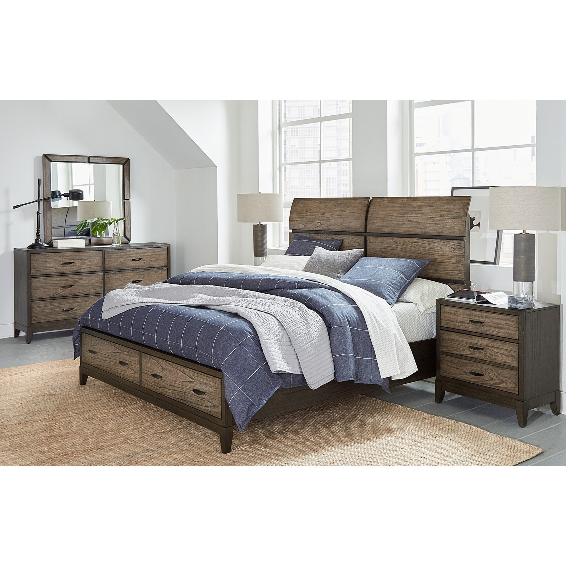 Westlake Queen Bedroom Group by Aspenhome at Fashion Furniture