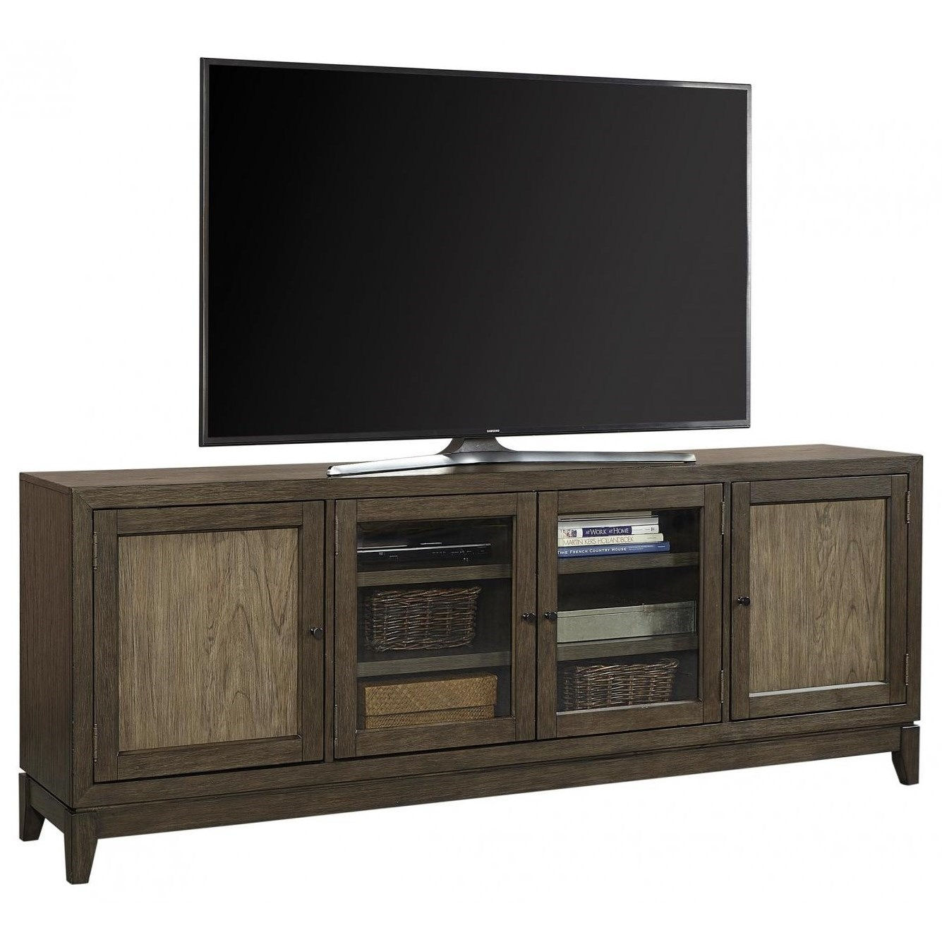 """Westlake 87"""" Console by Aspenhome at Walker's Furniture"""