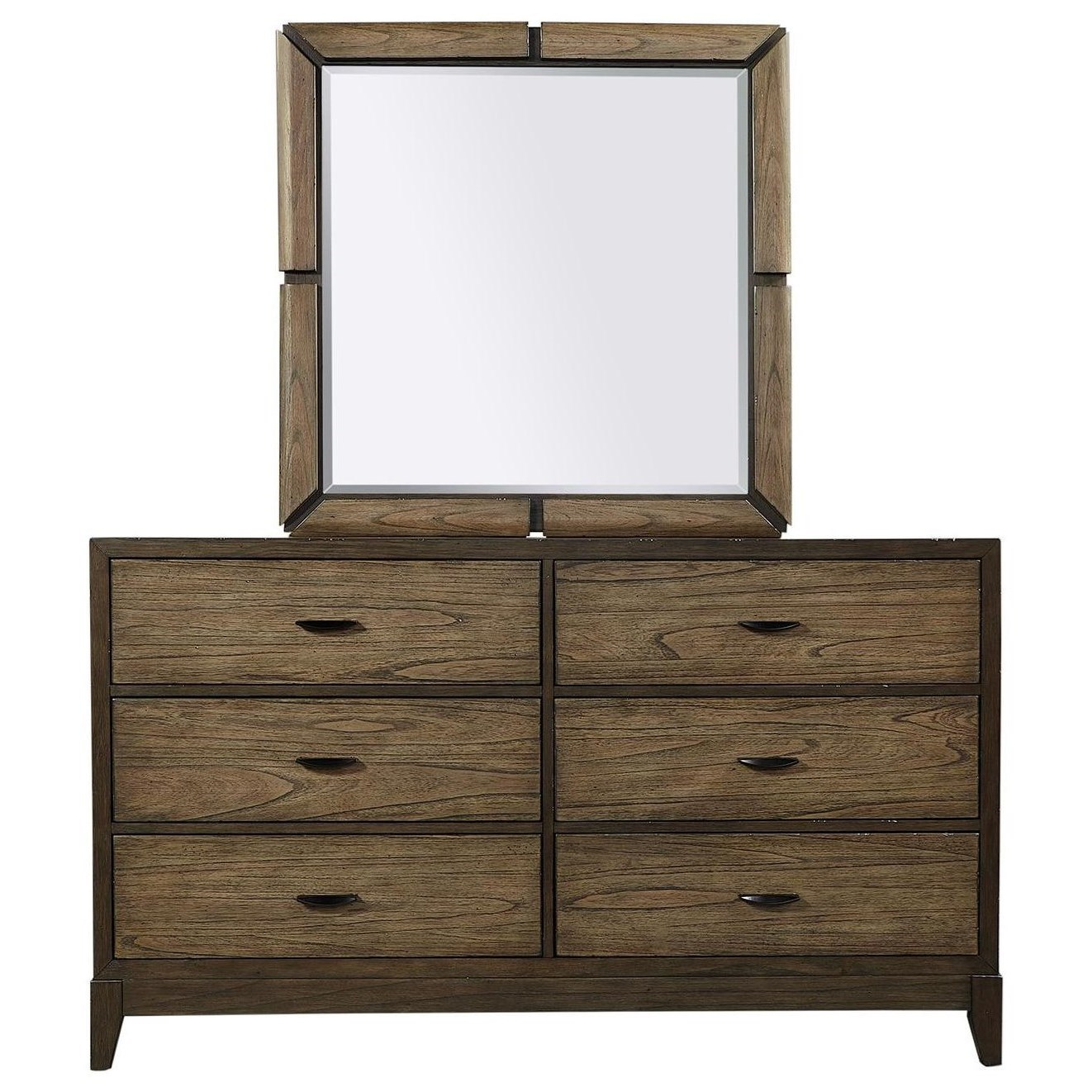 Westlake Dresser and Mirror Combination by Aspenhome at Baer's Furniture