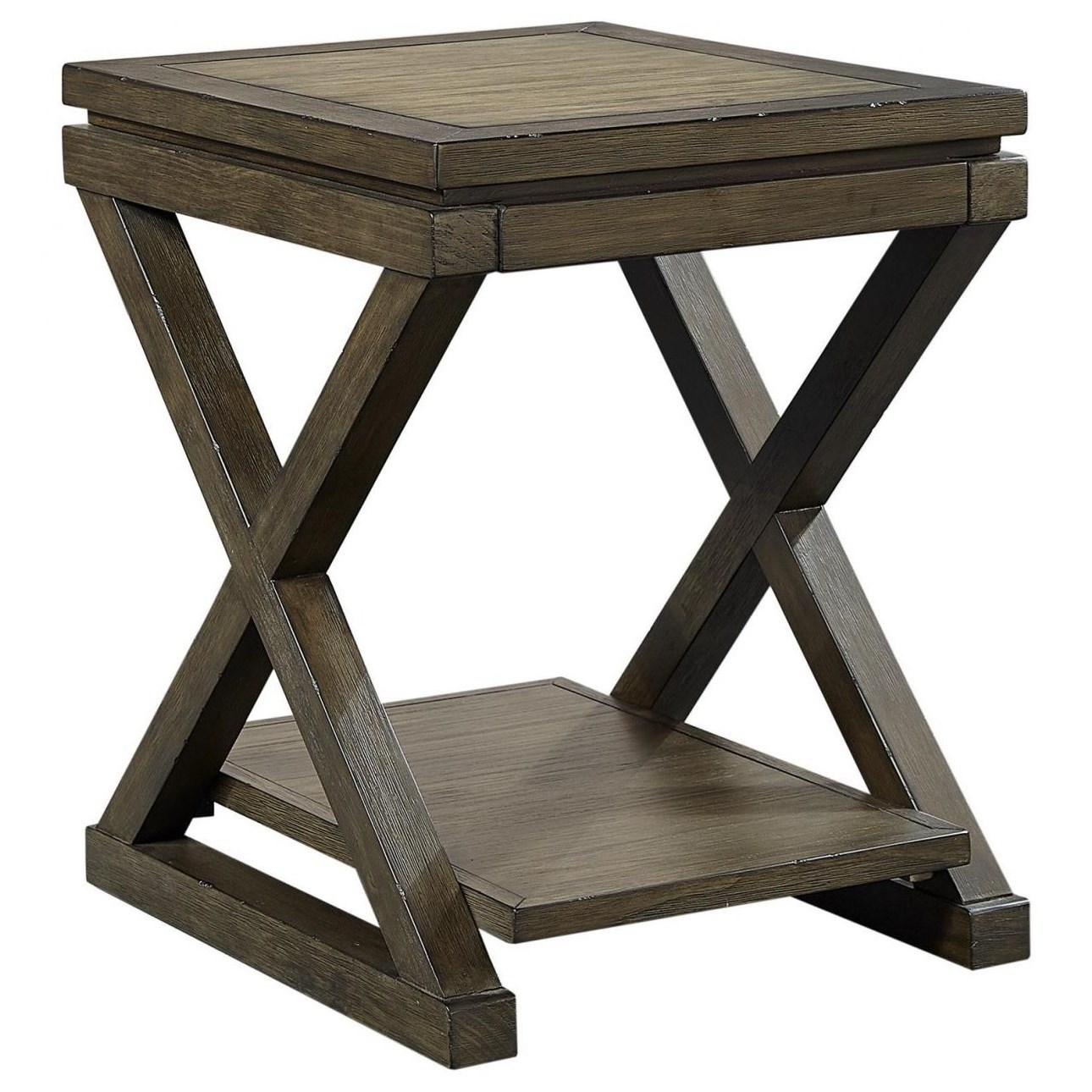 Westlake Chairside table  by Aspenhome at Walker's Furniture