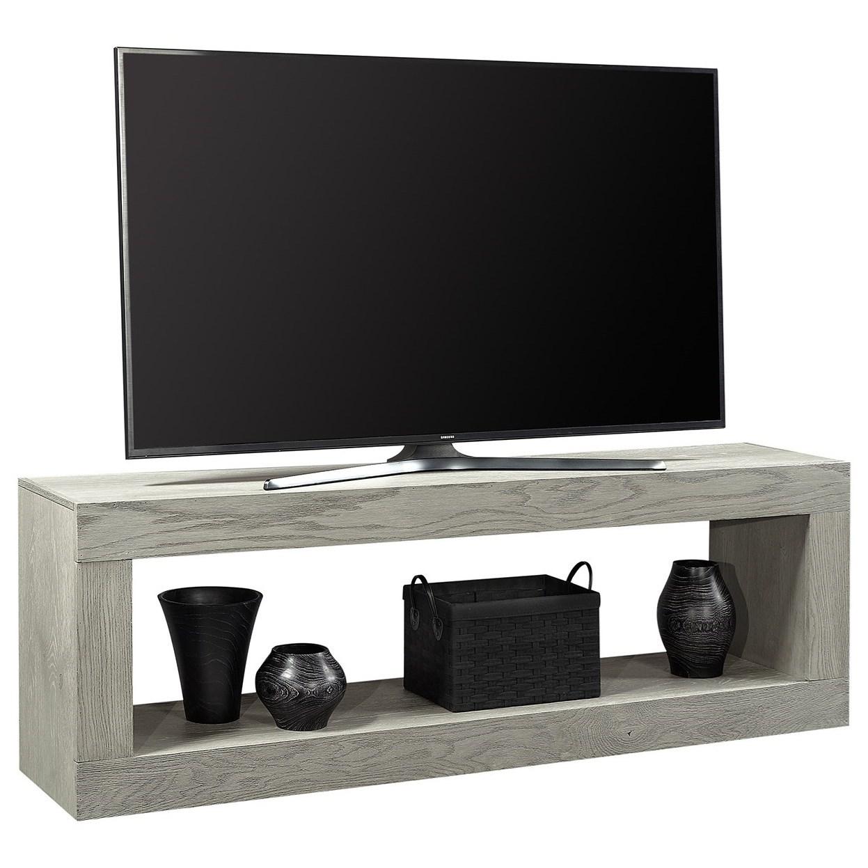 Nova Oak Open Console TV Stand by Aspenhome at Walker's Furniture