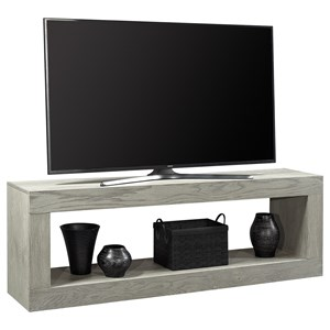 "Transitional 74"" Open Console TV Stand"
