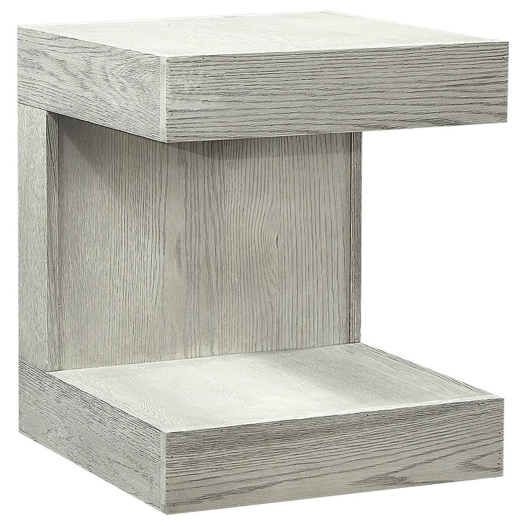 Nova Oak End Table by Aspenhome at Walker's Furniture