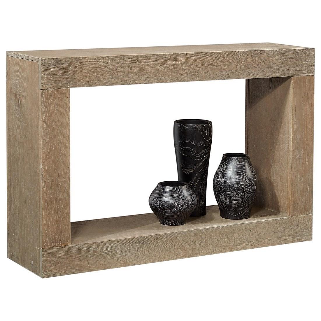 Nova Oak Console Table by Aspenhome at Baer's Furniture