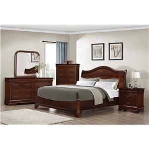 Austin Group Big Louis Big Louis King Bedroom Group