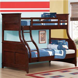 Austin Group Skylar Twin/Full Bunk Bed