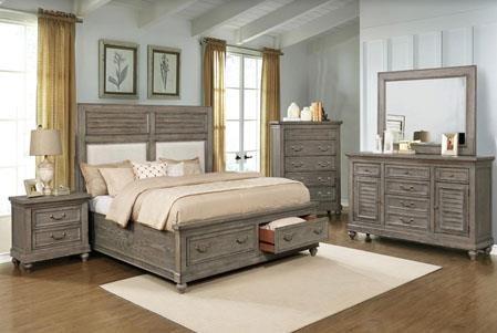 B0109 Queen Storage Bed by Avalon Furniture at Furniture Fair - North Carolina