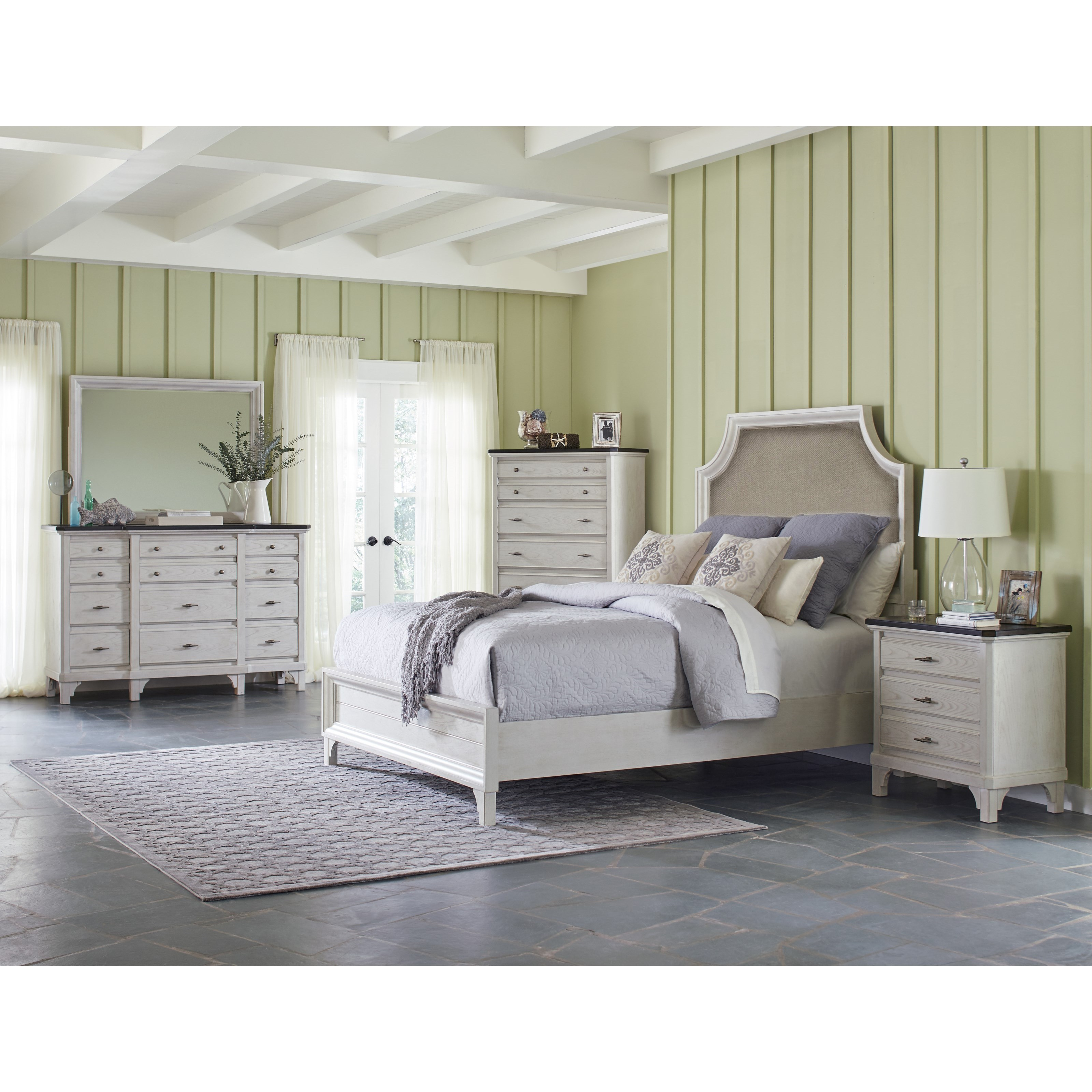 Mystic Cay King Bedroom Group by Avalon Furniture at Wilcox Furniture
