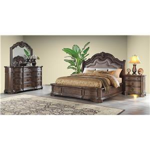 6 Piece King Bedroom